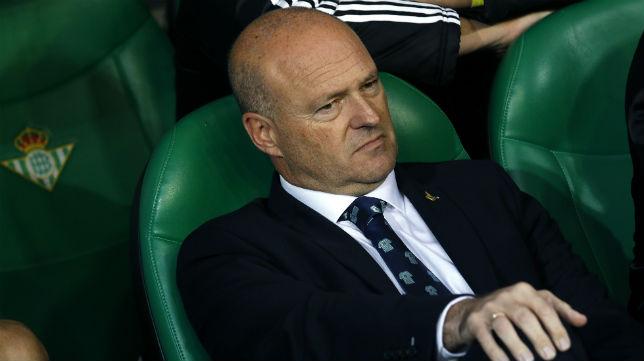 Pepe Mel, en su última etapa como entrenador del Betis (Foto: EFE).