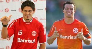 Edu y Damiao coincidieron en el Inter de Porto Alegre