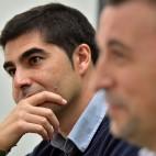 Ángel Haro, junto a López Catalán ( Foto: Juan Jose Ubeda).
