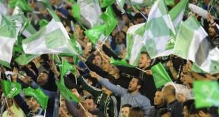 Afición durante el Betis-Levante