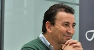 José Miguel López catalán, durante una entrevista concedida a ABC (Foto: J. J. Úbeda)