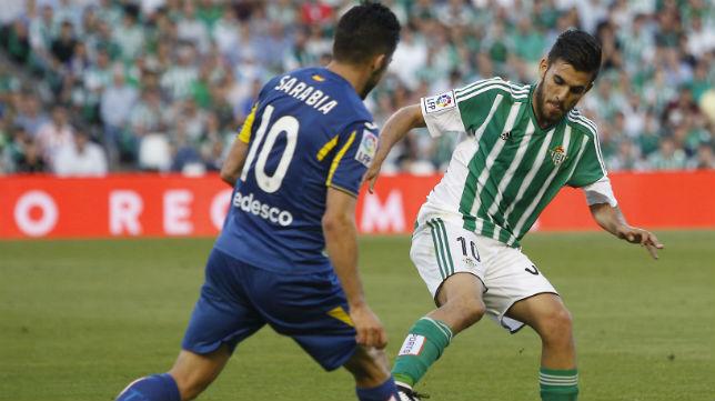 Dani Ceballos, en el Betis-Getafe (Foto: Raúl Doblado)