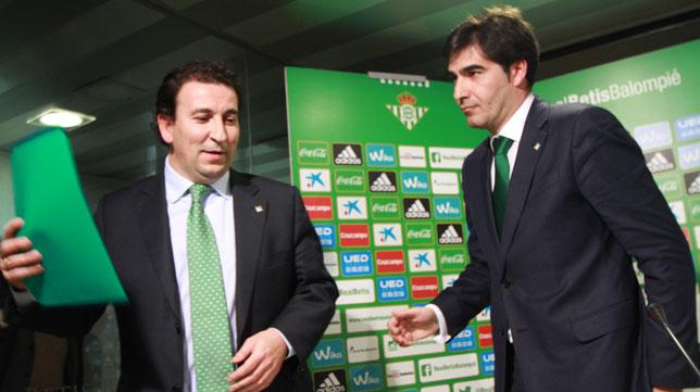 José Miguel López Catalán y Ángel Haro (Foto: Rocío Ruz).