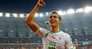 Mandi es una pieza importante en la selección de Argelia