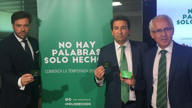 'No hay palabras, sólo hechos', campaña de abonos del Betis 2016-2017