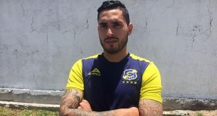 Braian Rodríguez con la camiseta de Everton