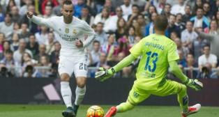 Jesé, en un partido con el Real Madrid (Foto: AFP)