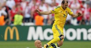 Zozulya, en un partido de la selección Ucraniana (Foto: EFE)