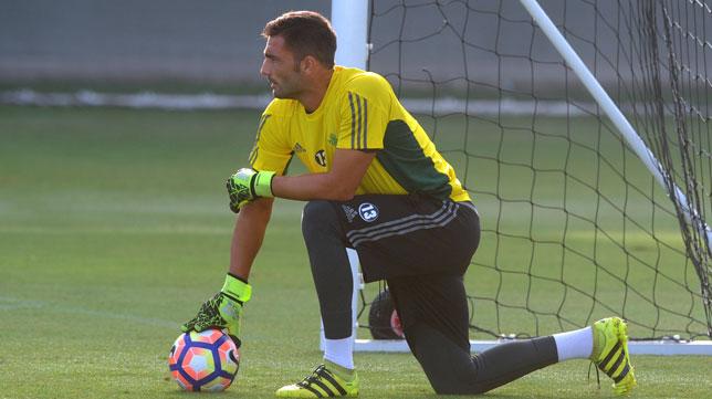 Adán en un entrenamiento (foto: Juan José Ubeda)
