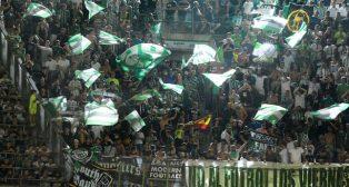 Aficionados del Betis (foto: Juan José Ubeda)