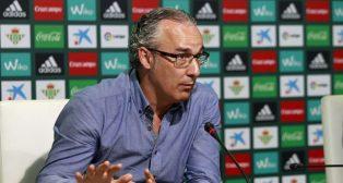 El director deportivo Miguel Torrecilla (foto: Raúl Doblado)
