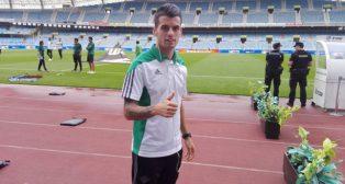 Álex Martínez, en Anoeta (Foto: Real Betis).