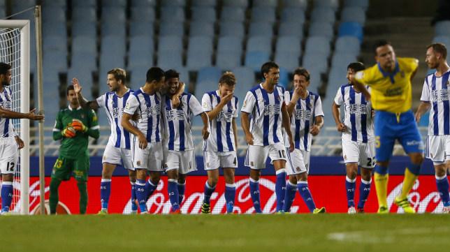 Imagen del Real Sociedad-Las Palmas en Anoeta
