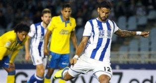 Willian José marcó de penalti ante la UD. Las Palmas (Foto: EFE)