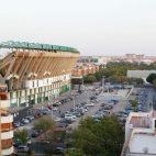 Imagen reciente del estadio Benito Villamarín y su anexa explanada (Foto: Raúl Doblado)