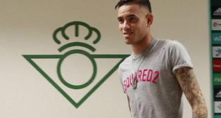 Sanabria, en la sala de prensa de la ciudad deportiva Luis del Sol (Foto: Raúl Doblado)