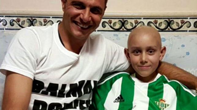 Joaquín, junto a José Antonio Garrido