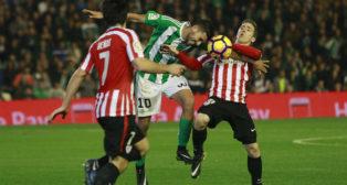 Ceballos, en el Betis-Athletic (Foto: Raúl Doblado)