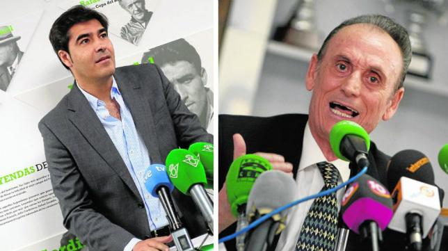 Ángel Haro y Manuel Ruiz de Lopera