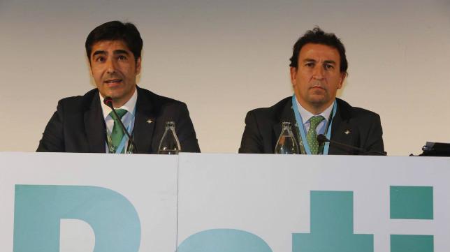 Haro y Catalán en la Junta de Accionistas 2016. Foto: RBB