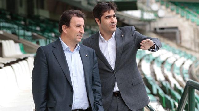 José Miguel López Catalán y Ángel Haro (Foto: Pepe Ortega).