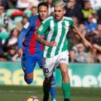 Ceballos conduce ante Neymar