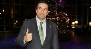 José Miguel López Catalán, antes de la junta de 2016 (Foto: J. M. Serrano).
