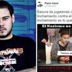 El rapero catalán Pablo Hasel deseó que el avión de la plantilla del Betis se estrelle por el caso Zozulia