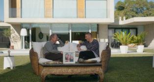 """Joaquín y Bertín Osborne, en """"Mi casa es la tuya"""" (Foto: proamagna)"""