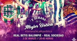 Cartel del Día de la Mujer Bética (Foto: RBB)