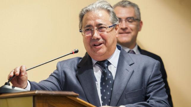 Juan Ignacio Zoido, durante un acto en Toledo (Foto: EFE)