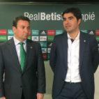 José Miguel López Catalán y Ángel Haro
