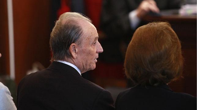 Manuel Ruiz de Lopera, en el banquillo de los acusados (Foto: Raúl Doblado).