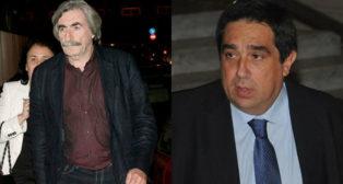 Emilio Soto y José Antonio Tirado, miembro de Béticos por el Villamarín (BXV) y presidente de Por Nuestro Betis (PNB), respectivamente