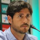 Víctor Sánchez del Amo, este viernes en rueda de prensa (Foto: RBB)