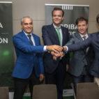 Miguel Valenzuela, Rafael Salas, Alfonso Pérez y Adrián Fernández. Foto: J.J. Úbeda