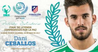 Dani Ceballos estará en el 'Final de Leyenda' organizado por el Atlético de Madrid (Foto: @CompromisosPaz)