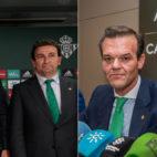 Ángel Haro, José Miguel López Catalán y Rafael Salas