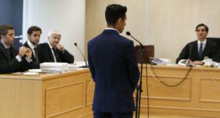 Rubén Castro, en el juicio (Foto: EFE)