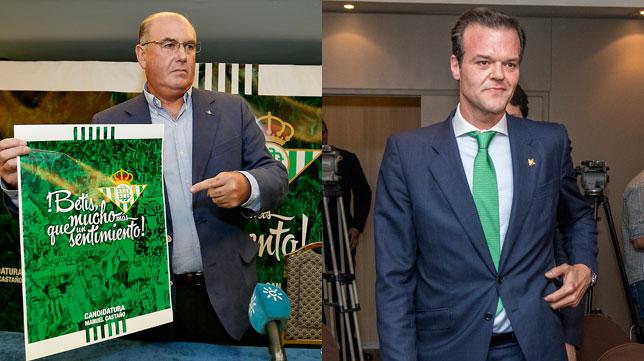 Manuel Castaño y Rafael Salas