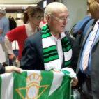 Serra Ferrer, a su llegada al aeropuerto de San Pablo (Foto: R. Román)