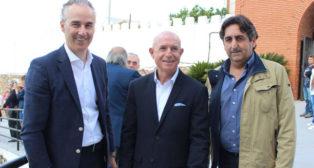 Miguel Torrecilla, Lorenzo Serra Ferrer y Pedro Buenaventura (Foto: RBB)