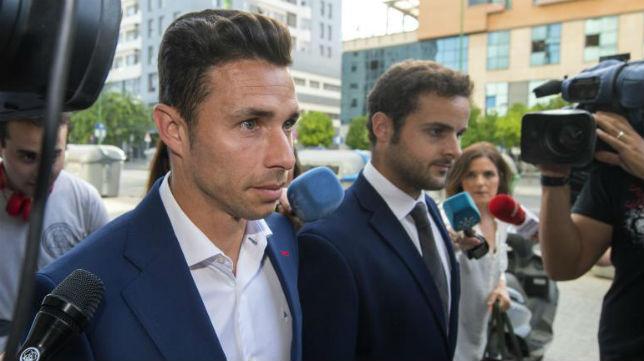 Rubén Castro, a su llegada al juicio (Foto: Juan José Úbeda)