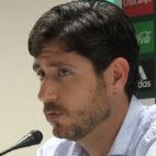 Víctor Sánchez del Amo, en una rueda de prensa