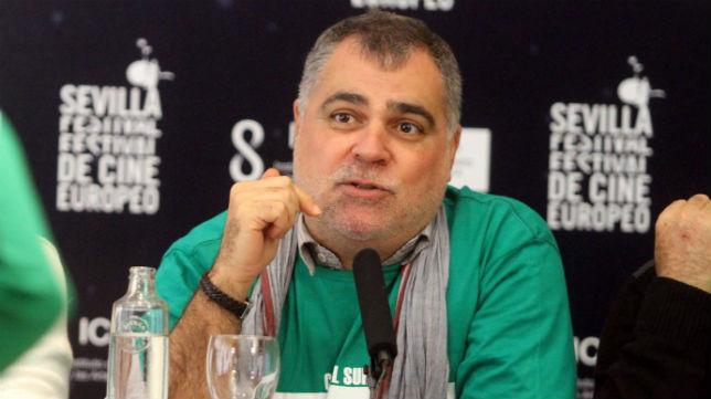 Benito Zambrano, durante una rueda de prensa en Sevilla (Foto: Vanessa Gómez)