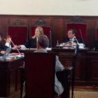 Manuel Ruiz de Lopera, durante el juicio (Foto: J. A.)