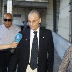 Manuel Ruiz de Lopera, a su llegada a los juzgados (Foto: Raúl Doblado)
