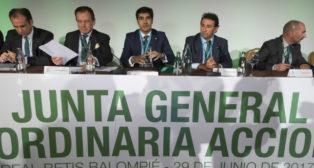 Junta General de Accionistas del Real Betis
