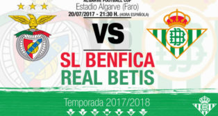 Cartel del amistoso Benfica-Betis (Foto: RBB)