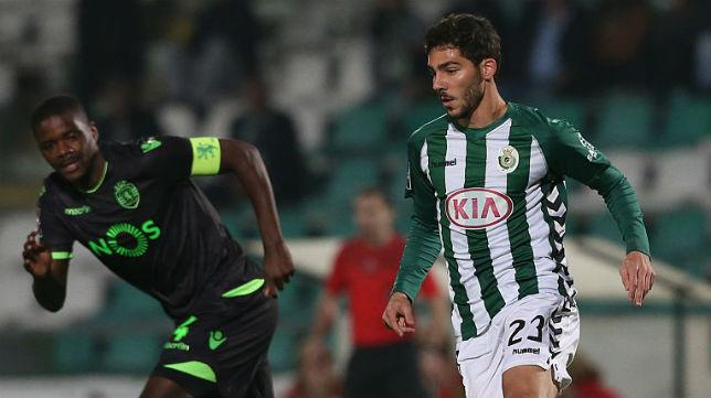 Lance de un partido del Vitória de Setubal frente al Sporting de Portugal (Foto: Getty Images)